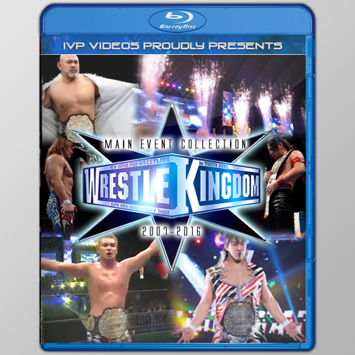 NJPW Wrestlekingdom Main Events (Blu-Ray with Cover Art)